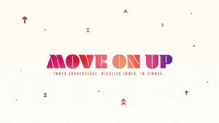Move on Up! - Students Night Werbeplakat