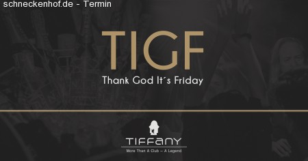 Thank God Its Friday Werbeplakat