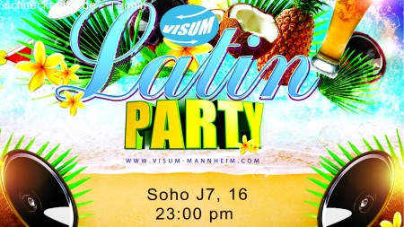 VISUM Latin Party Werbeplakat