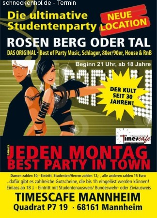 Die Ultimative Studentenparty Werbeplakat